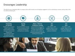Encourages Leadership Retention M2287 Ppt Powerpoint Presentation Slides Layout