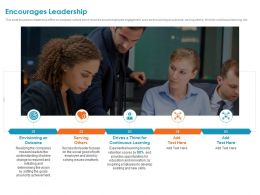 Encourages Leadership Thirst Drives Ppt Powerpoint Presentation Model Professional
