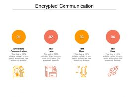 Encrypted Communication Ppt Powerpoint Presentation Shapes Cpb