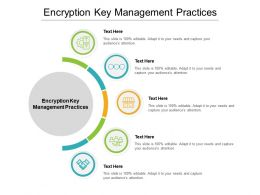 Encryption Key Management Practices Ppt Powerpoint Presentation Pictures Cpb