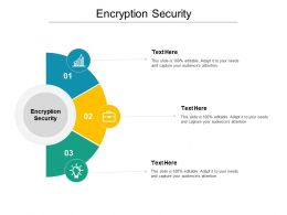 Encryption Security Ppt Powerpoint Presentation Icon Inspiration Cpb