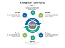 Encryption Techniques Ppt Powerpoint Presentation Infographic Template Sample Cpb
