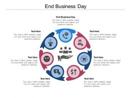 End Business Day Ppt Powerpoint Presentation Portfolio Format Ideas Cpb