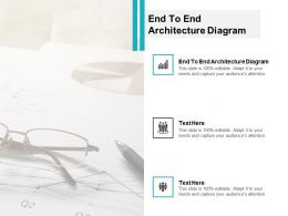 End End Architecture Diagram Ppt Powerpoint Presentation Styles Ideas Cpb