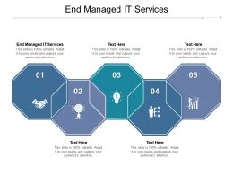 End Managed It Services Ppt Powerpoint Presentation Infographic Template Graphics Download Cpb
