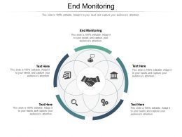 End Monitoring Ppt Powerpoint Presentation Professional Maker Cpb