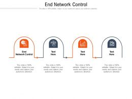 End Network Controls Ppt Powerpoint Presentation Summary Portfolio Cpb