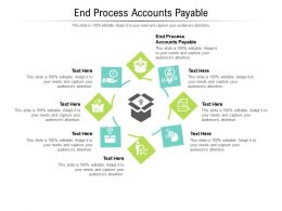 End Process Accounts Payable Ppt Powerpoint Presentation File Shapes Cpb
