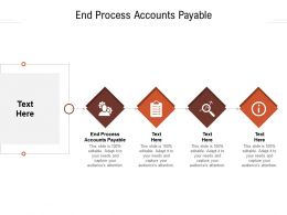 End Process Accounts Payable Ppt Powerpoint Presentation Gallery Template