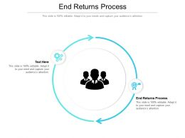 End Returns Process Ppt Powerpoint Presentation Gallery Graphics Pictures Cpb