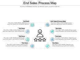 End Sales Process Map Ppt Powerpoint Presentation Portfolio Ideas Cpb