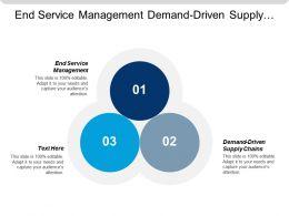 End Service Management Demand-Driven Supply Chains Strategic Alliance Cpb