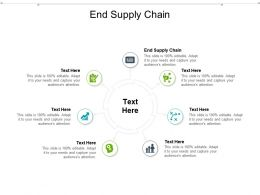 End Supply Chain Ppt Powerpoint Presentation Infographic Template Ideas Cpb