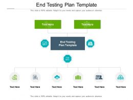 End Testing Plan Template Ppt Powerpoint Presentation Themes Cpb