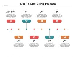 End To End Billing Process Ppt Powerpoint Presentation Visual Aids Pictures Cpb