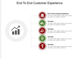 End To End Customer Experience Ppt Powerpoint Presentation Ideas Slide Download Cpb