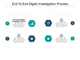 End To End Digital Investigation Process Ppt Powerpoint Presentation Images Cpb