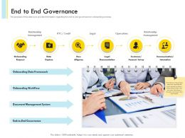 End To End Governance Agenda Powerpoint Presentation Skills