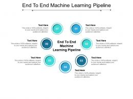 End To End Machine Learning Pipeline Ppt Powerpoint Presentation Slides Influencers Cpb