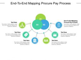 End To End Mapping Procure Pay Process Ppt Powerpoint Presentation Show Backgrounds Cpb