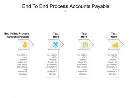 End To End Process Accounts Payable Ppt Powerpoint Presentation Styles Files Cpb