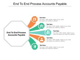 End To End Process Accounts Payable Ppt Presentation Pictures Graphic Tips Cpb