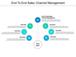 End To End Sales Channel Strategy Ppt Powerpoint Presentation Styles Sample Cpb