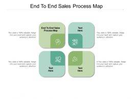 End To End Sales Process Map Ppt Powerpoint Presentation Sample Cpb