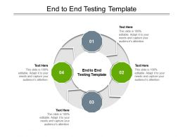 End To End Testing Template Ppt Powerpoint Presentation Ideas Backgrounds Cpb