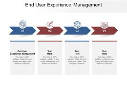 End User Experience Management Ppt Powerpoint Presentation Ideas Cpb