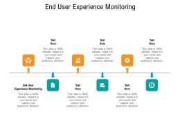 End User Experience Monitoring Ppt Powerpoint Presentation Model Templates Cpb