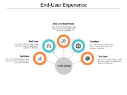End User Experience Ppt Powerpoint Presentation Inspiration Deck Cpb