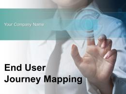End User Journey Mapping Powerpoint Presentation Slides