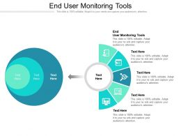 End User Monitoring Tools Ppt Powerpoint Presentation Outline Slide Portrait Cpb