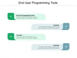 End User Programming Tools Ppt Powerpoint Presentation Model Outline Cpb