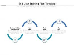 End User Training Plan Template Ppt Powerpoint Presentation Pictures Example File Cpb