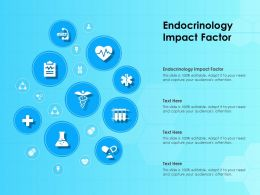 Endocrinology Impact Factor Ppt Powerpoint Presentation Infographics Shapes