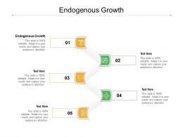Endogenous Growth Ppt Powerpoint Presentation File Outline Cpb