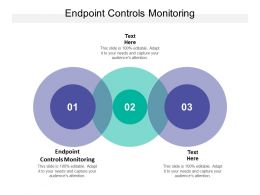 Endpoint Controls Monitoring Ppt Powerpoint Presentation File Skills Cpb