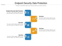 Endpoint Security Data Protection Ppt Powerpoint Presentation Infographic Template Show Cpb