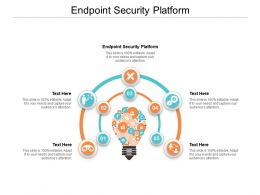 Endpoint Security Platform Ppt Powerpoint Presentation Inspiration Samples Cpb