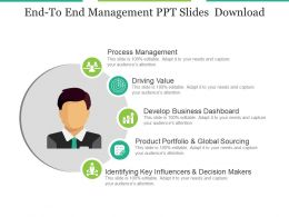 Endto End Management Ppt Slides Download