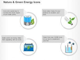 Energy Battery Cfl Power Generation Ppt Icons Graphics