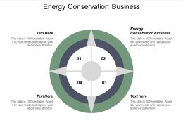 Energy Conservation Business Ppt Powerpoint Presentation Icon Infographics Cpb