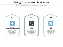 Energy Conservation Businesses Ppt Powerpoint Presentation Pictures Styles Cpb