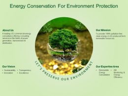 Energy Conservation For Environment Protection Trees Nature Forest