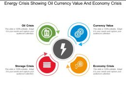 Energy Crisis Showing Oil Currency Value And Economy Crisis