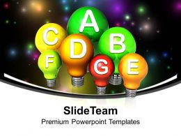 Energy Efficiency Concept Nature Powerpoint Templates Ppt Backgrounds For Slides 0113