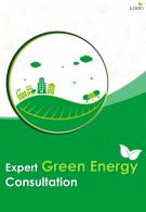 Energy Efficiency Consultants Four Page Brochure Template