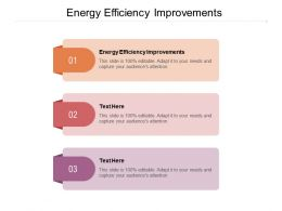 Energy Efficiency Improvements Ppt Powerpoint Presentation Infographic Template Graphics Cpb
